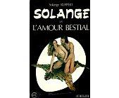 Szczegóły książki SOLANGE ET L'AMOUR BESTIAL