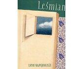 Szczegóły książki LIRYKI NAJPIĘKNIEJSZE - LEŚMIAN