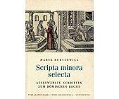 Szczegóły książki SCRIPTA MINORA SELECTA