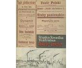 Szczegóły książki ŚLĄSKA KRONIKA TEATRALNA 1914 - 1922