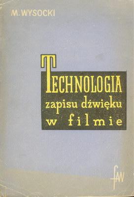 TECHNOLOGIA ZAPISU DŹWIĘKU W FILMIE