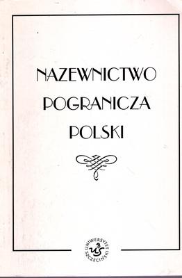 NAZEWNICTWO POGRANICZA POLSKI