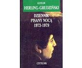 Szczegóły książki DZIENNIK PISANY NOCĄ 1973-1979