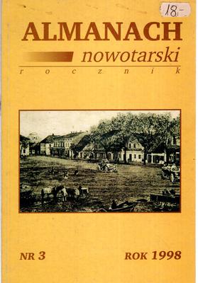 ALMANACHA NOWOTARSKI NR 3