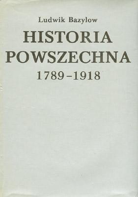 HISTORIA POWSZECHNA 1789-1918