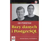 Szczegóły książki BAZY DANYCH I POSTGRESQL. OD PODSTAW