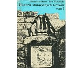 Szczegóły książki HISTORIA STAROŻYTNYCH GREKÓW - TOM 1 - DO KOŃCA WOJEN PERSKICH