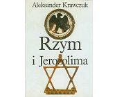 Szczegóły książki RZYM I JEROZOLIMA