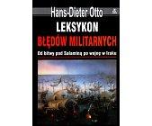 Szczegóły książki LEKSYKON BŁĘDÓW MILITARNYCH