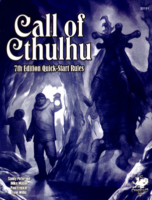 CALL OF CTHULHU - SEVENTH EDITION QUICK-START RULES (RPG)