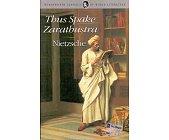 Szczegóły książki THUS SPAKE ZARATHUSTRA