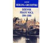 Szczegóły książki DZIENNIK PISANY NOCĄ 1984-1988