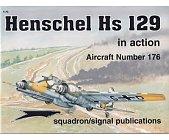 Szczegóły książki HENSCHEL HS 129 (IN ACTION)