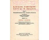 Szczegóły książki KATALOG ZABYTKÓW SZTUKI W POLSCE. POWIAT SŁUPECKI