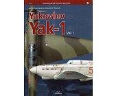 Szczegóły książki YAKOVLEV YAK-1. VOL.1 (MONOGRAPHS SPECIAL EDITION 5)