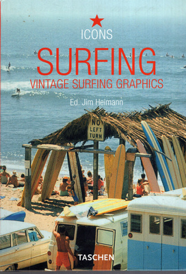 ICONS - SURFING. VINTAGE SURFING GRAPHICS