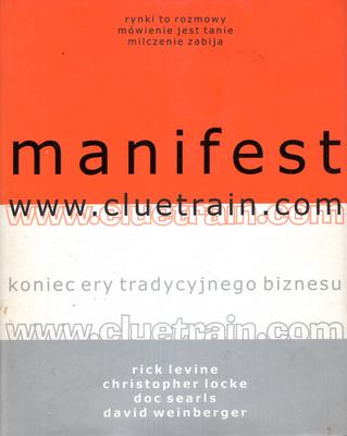 MANIFEST WWW.CLUETRAIN.COM