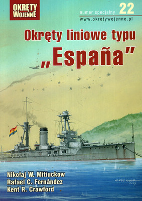 "OKRĘTY LINIOWE TYPU ""ESPANA"""