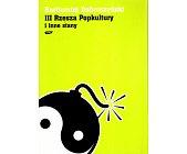 Szczegóły książki III RZESZA POPKULTURY I INNE STANY