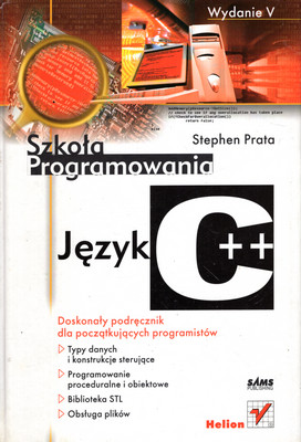 SZKOŁA PROGRAMOWANIA - JĘZYK C ++