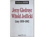 Szczegóły książki LISTY 1959-1982