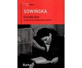 Szczegóły książki GORZKIE LATA