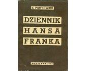 Szczegóły książki DZIENNIK HANSA FRANKA