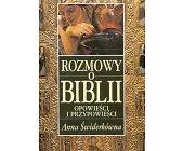 Szczegóły książki ROZMOWY O BIBLII