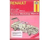 Szczegóły książki RENAULT 30 OWNERS WORKSHOP MANUAL
