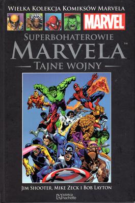 SUPERBOHATEROWIE MARVELA - TAJNE WOJNY (MARVEL 26)