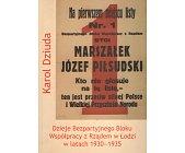 Szczegóły książki DZIEJE BEZPARTYJNEGO BLOKU WSPÓŁPRACY Z RZĄDEM W ŁODZI W LATACH 1930 - 1935
