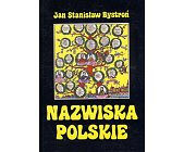 Szczegóły książki NAZWISKA POLSKIE