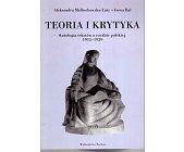 Szczegóły książki TEORIA I KRYTYKA