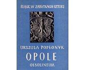 Szczegóły książki OPOLE