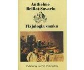 Szczegóły książki FIZJOLOGIA SMAKU