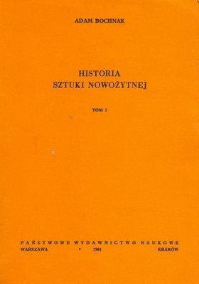HISTORIA SZTUKI NOWOŻYTNEJ - 2 TOMY