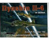 Szczegóły książki ILYUSHIN II-4 IN ACTION