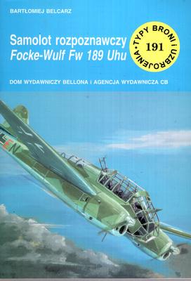 SAMOLOT ROZPOZNACZY FOCKE-WULF FW 189 UHU