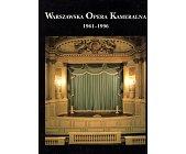 Szczegóły książki WARSZAWSKA OPERA KAMERALNA 1961-1996