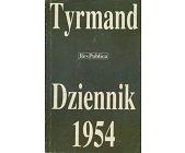 Szczegóły książki DZIENNIK 1954