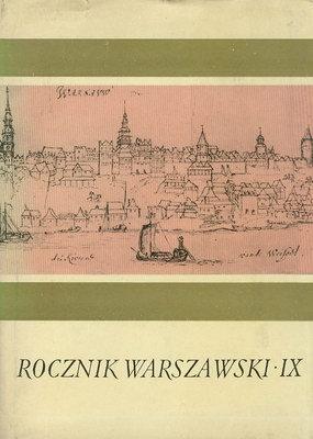ROCZNIK WARSZAWSKI IX