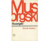 Szczegóły książki MUSORGSKI