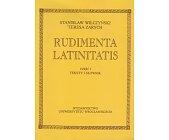 Szczegóły książki RUDIMENTA LATINITATIS - 2 TOMY