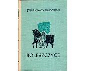 Szczegóły książki BOLESZCZYCE