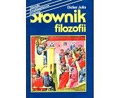 Szczegóły książki SŁOWNIK FILOZOFII