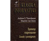 Szczegóły książki SYSTEMY ROZPROSZONE. ZASADY I PARADYGMATY