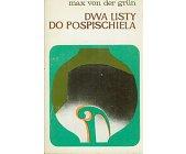 Szczegóły książki DWA LISTY DO POSPISCHIELA