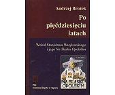 Szczegóły książki PO PIĘĆDZIESIĘCIU LATACH