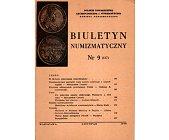Szczegóły książki BIULETYN NUMIZMATYCZNY NR 9