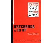 Szczegóły książki REFERENDA W III RP